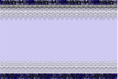 Lace Flowers Background