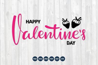 Happy Valentines Day SVG. Shirt Design SVG. Valentine's Day