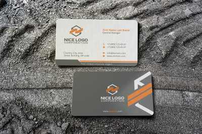 packing business card