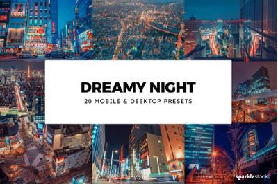 20  Dreamy Night LR Presets