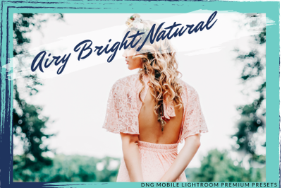 DC AIRY BRIGHT NATURAL LIGHTROOM PRESETS