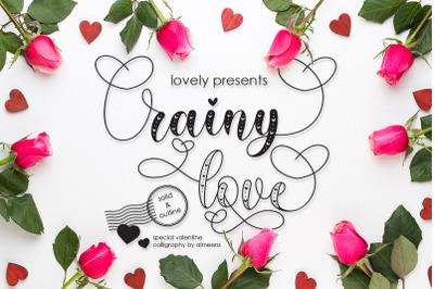 Rainy Love | Lovely Calligraphy