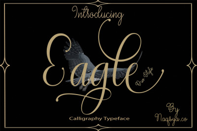 Eagle Font duo style