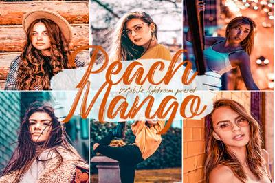 Peach Mango Lightroom Presets