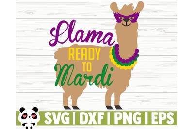 Llama Ready To Mardi