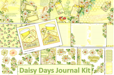 Printable Junk Journal Kit Easter Summer