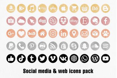 Social Media Icons - Mega Pack
