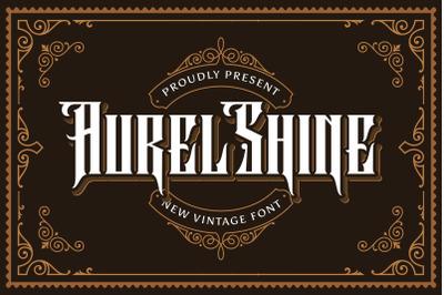 Aurel Shine - Blackletter Font