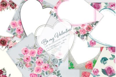 Be My Valentine* Printable Cards 5x7
