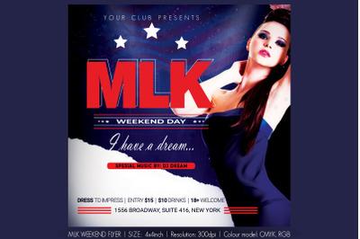 MLK Weekend Flyer