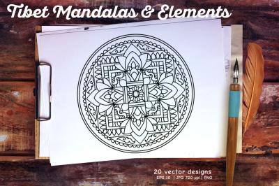 Tibet Mandalas & Elements