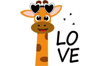 Cute giraffe svg, giraffe clip art, giraffe instant download, giraffe