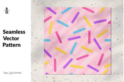 Sprinkles seamless pattern