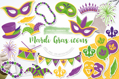Madre Gras Icons
