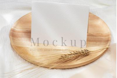 5.5x4.25 Card Mockup,Card Mockup,PSD Mockup