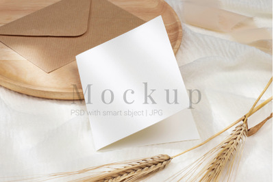 Smart Object Mockup,Blank Card Mockup,Card Mockup