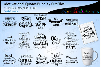 motivational quotes cut files