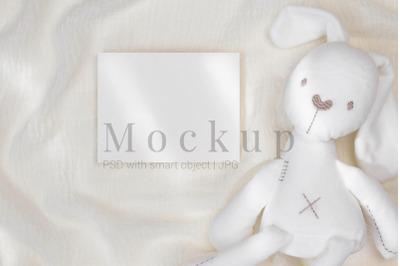 PSD Mockup,Nursery Card Mockup,5.5x4.25 Card Mockup