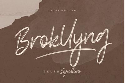 Brokllyng Brush Signature