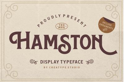 Hamston Display Vintage