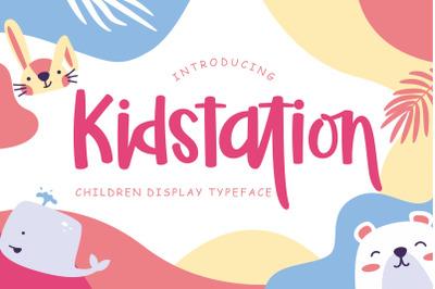 Kidstation Fun Children Display