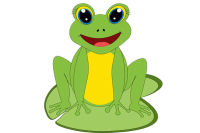 Frog svg, Cute frog svg, frog clip art, frog svg design, sea animal sv