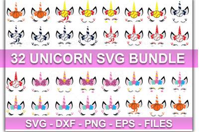 unicorn bundle svg, bundle svg, unicorn horn