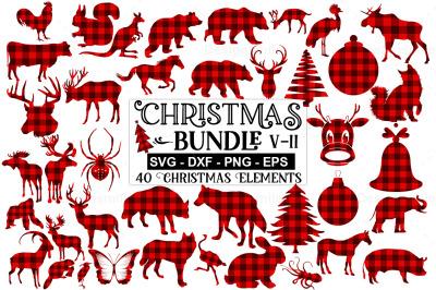 Christmas Ornaments SVG Bundle