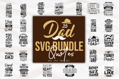 Dan and Son Quotes SVG Bundle, Craft Designs Collection Cut File