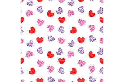heart shape pattern design