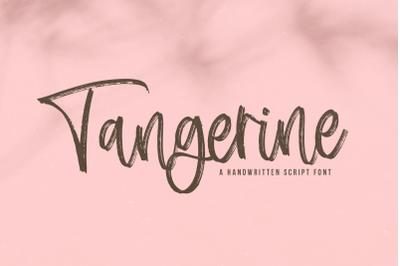 Tangerine - Brush Script Font