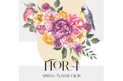 Flora. Spring collection