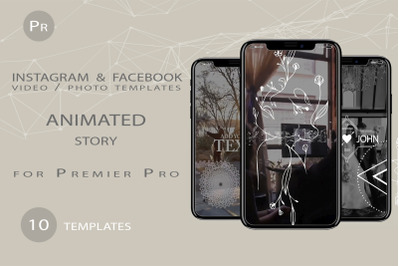 ANIMATED VIDEO TEMPLATES FOR PREMIER PRO