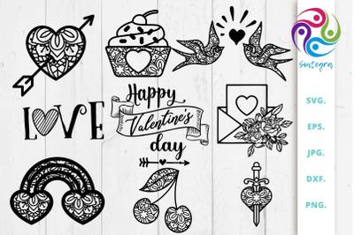 Valentines Bundle Svg Cut File