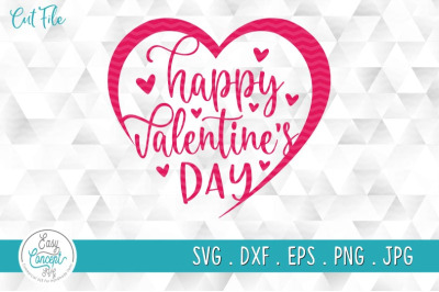 Happy Valentine's Day SVG Cut files