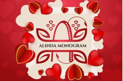ALINDA MONOGRAM
