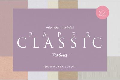 Classic & Clean Paper Textures Bundle