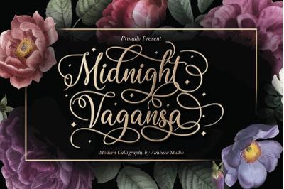Midnight Vagansa | Beauty Calligraphy