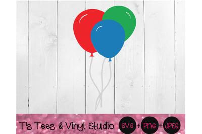 Balloons Svg, Party Balloons, Celebration, Celebrate, Balloon Trio, Ha
