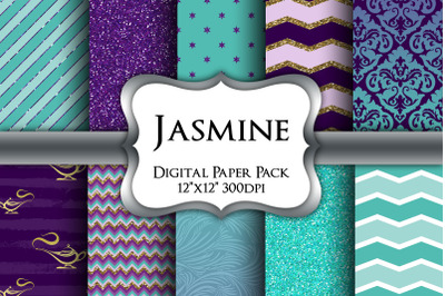 Jasmine Inspired Digital Paper Pack