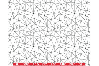SVG Grid of Triangles, Seamless pattern, Digital clipart
