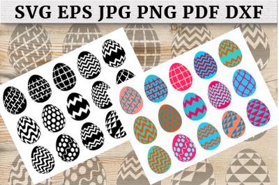 Easter Eggs SVG Bundle