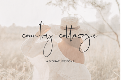 Country Cottage Script