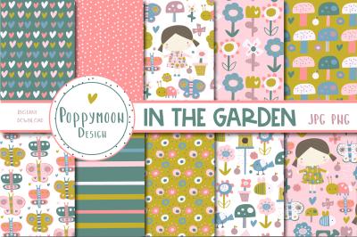 In the Garden paper set