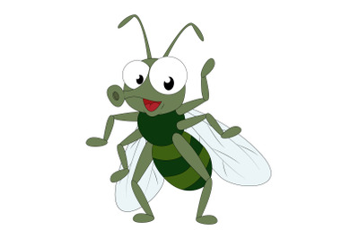 cute flies cartoon