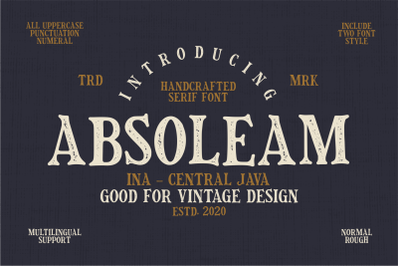 Absoleam Vintage Rough