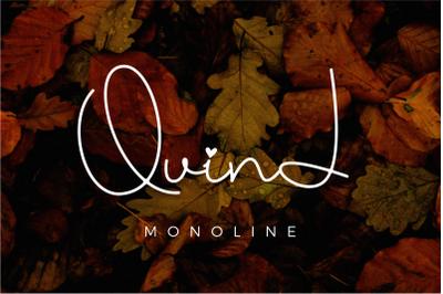Quind Monoline Signature