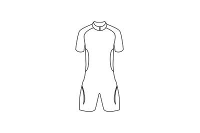 Swimsuit Outline Icon
