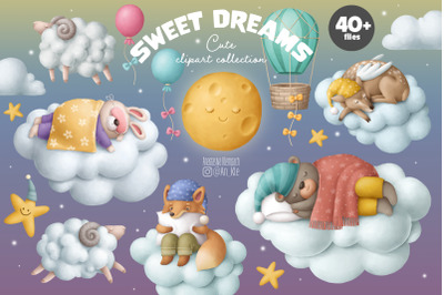 Sweet dreams clipart
