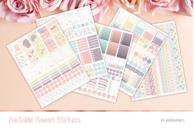 Valentine's day Printable Planner Stickers